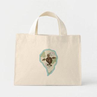 Callie the Sea Turtle Light Tote Bag