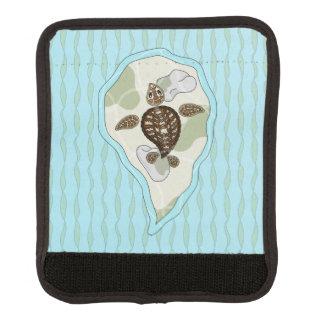 Callie the Sea Turtle Luggage Handle Wrap
