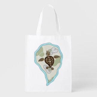 Callie the Sea Turtle Reusable Grocery Bag