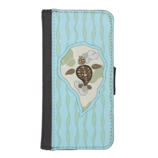 Callie the Sea Turtle Smartphone Wallet Case