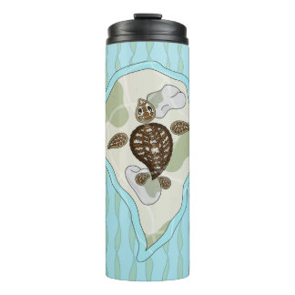 Callie the Sea Turtle Thermal Tumbler