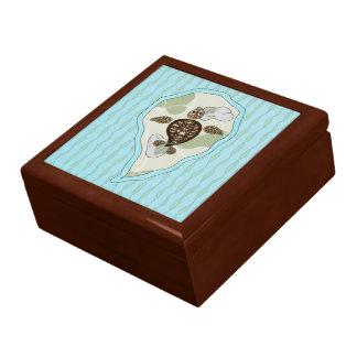 Callie the Sea Turtle Tile Box