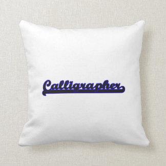 Calligrapher Classic Job Design Pillows