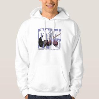 Calligrapher Rabbit - Hooded Sweatshirt- Hoodie