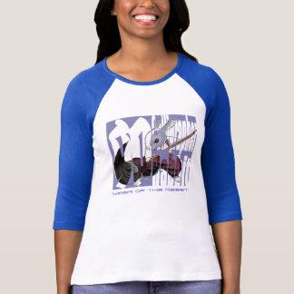 Calligrapher Rabbit - Ladies T-Shirt -