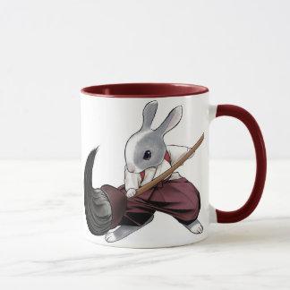 Calligrapher Rabbit - Mug- Mug