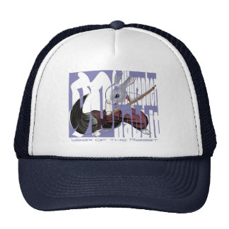 Calligrapher Rabbit - Trucker Hat- Trucker Hat