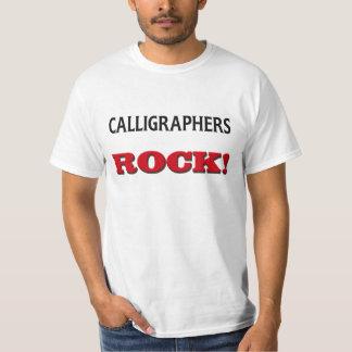 Calligraphers Rock T-Shirt