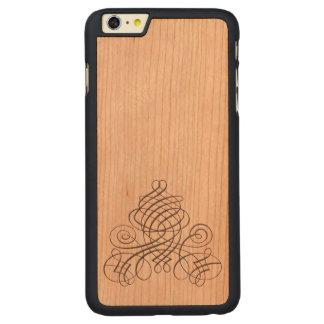 Calligraphic Pyramid Carved® Cherry iPhone 6 Plus Case