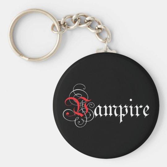Calligraphic  Vampire Keychain