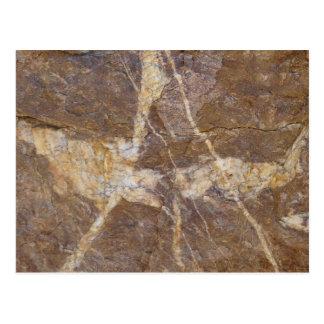 calligraphs on stone postcard