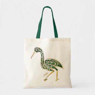 Calligraphy Bird (Stork) Bag
