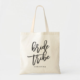 Calligraphy Bride tribe Tote Bag 455fb4e07f