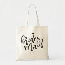 Calligraphy Bridemaid Tote Bag