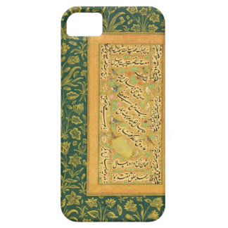 Calligraphy by Mir Ali of Herat, with a Mughal bor iPhone SE/5/5s Case