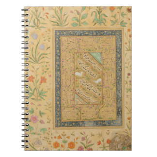 Calligraphy by the Iranian master Ali al-Mashhadi Notebook