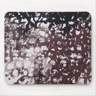 """Calligraphy """"color duet """" mouse pad"""