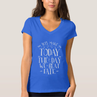 Calligraphy Inspirational Quote Typography T shirt