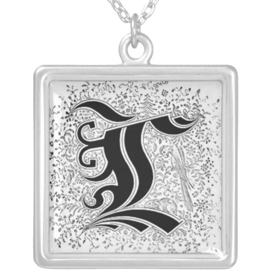 Calligraphy Letter C Necklace