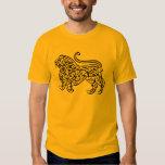 Calligraphy Lion (black) T Shirt