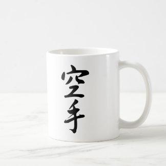 Calligraphy of the Japanese Word Karate Coffee Mug
