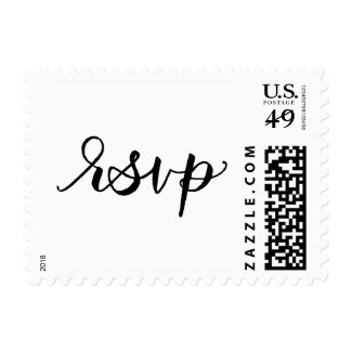 Calligraphy RSVP Postage