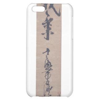 Calligraphy written by Miyamoto Musashi, c. 1600's iPhone 5C Case