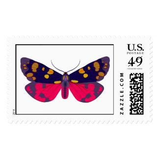 Callimorpha dominula postage stamp