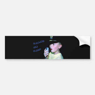 Calling All Cars! (Little Officer 6) Bumper Sticker