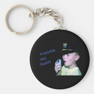 Calling All Cars! (Little Officer 6) Keychain