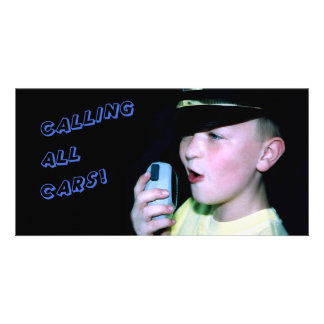 Calling All Cars! (Little Officer 6) Photo Card