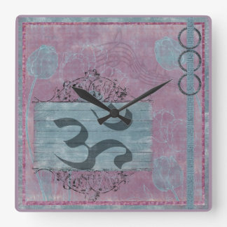 Calling All Goddesses Square Wall Clock