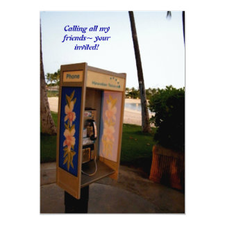 Calling all my friends~ your invited! card