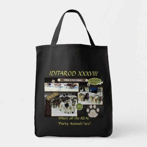 Calling all party animals! bag