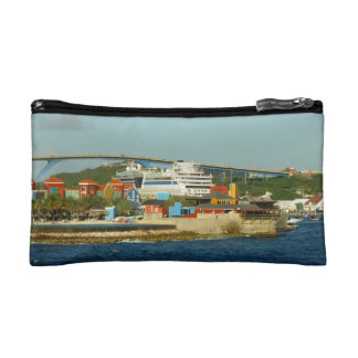 Calling at Curacao Cosmetic Bags