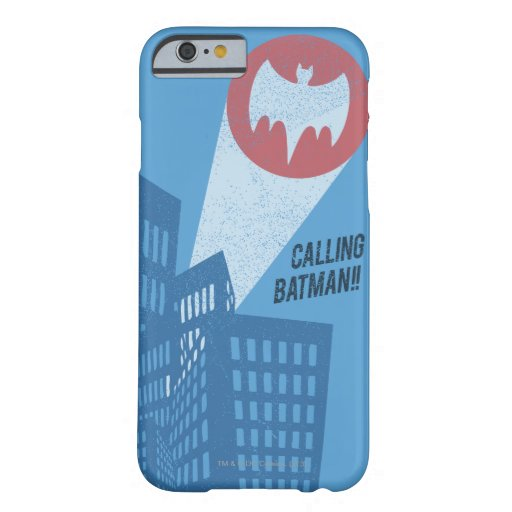 Calling Batman Bat Symbol Graphic Barely There iPhone 6 Case