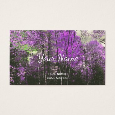 Professional Business Calling Card Customizable to a Full Business Card