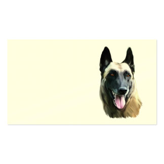 calling card malinois Double-Sided standard business cards (Pack of 100)