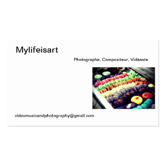 Calling card Mylifeisart Business Card
