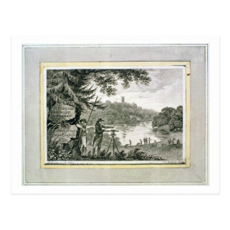 Calling card of Humphrey Repton, engraved by Thoma