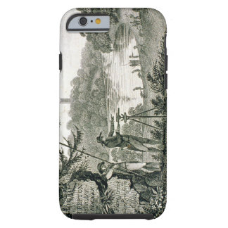 Calling card of Humphrey Repton, engraved by Thoma Tough iPhone 6 Case