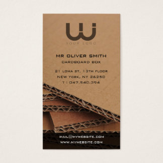 Calling card professional, bottom paperboard