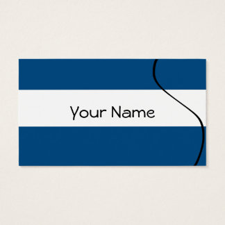 Calling cards Bandages Navy 5.1 cm X 8.9 cm