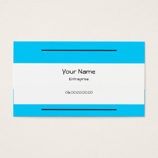 Calling cards Bandages Turquoise 5.1 cm X 8.9 cm