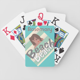 Calling for Beach Fun Bicycle Playing Cards
