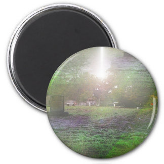 Calling from Beyond the Grave 2 Inch Round Magnet