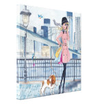 Calling in New York  - Canvas Canvas Prints