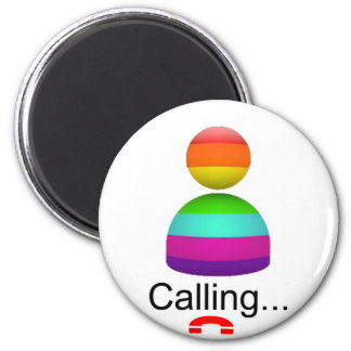calling 2 inch round magnet
