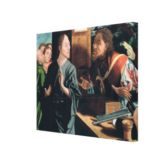 Calling of St. Matthew Canvas Print
