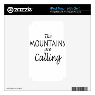 calling skins for iPod touch 4G